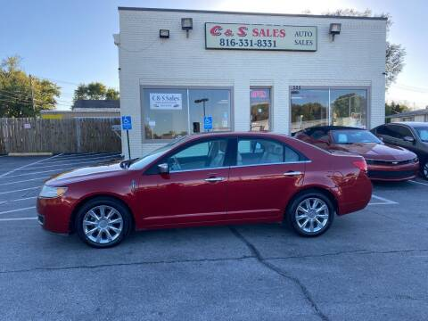 2010 Lincoln MKZ for sale at C & S SALES in Belton MO
