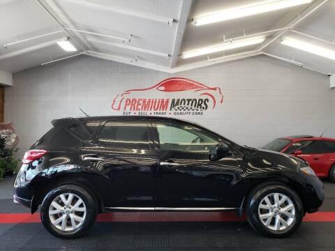 2014 Nissan Murano for sale at Premium Motors in Villa Park IL