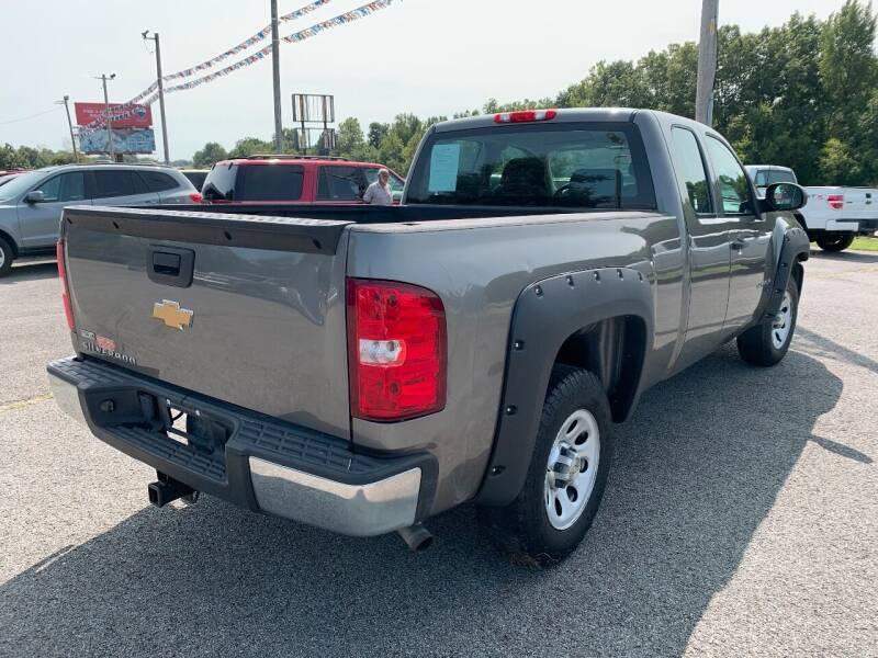 2012 Chevrolet Silverado 1500 4x2 Work Truck 4dr Extended Cab 6.5 ft. SB - Murphysboro IL