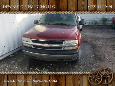 2005 Chevrolet Suburban for sale at DFW AUTO FINANCING LLC in Dallas TX