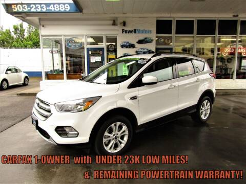 2019 Ford Escape for sale at Powell Motors Inc in Portland OR
