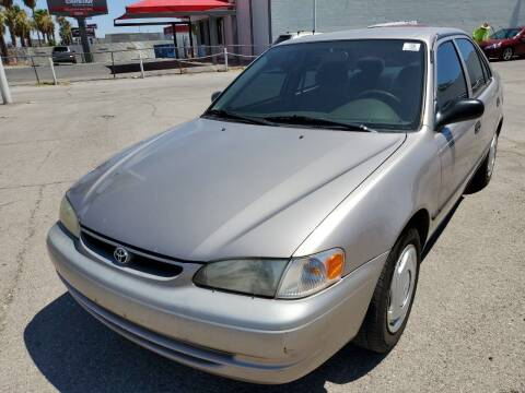 1999 Toyota Corolla for sale at TJ Motors in Las Vegas NV