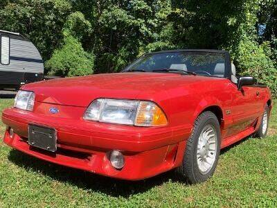 1989 Ford Mustang for sale at Worthington Air Automotive Inc in Williamsburg MA