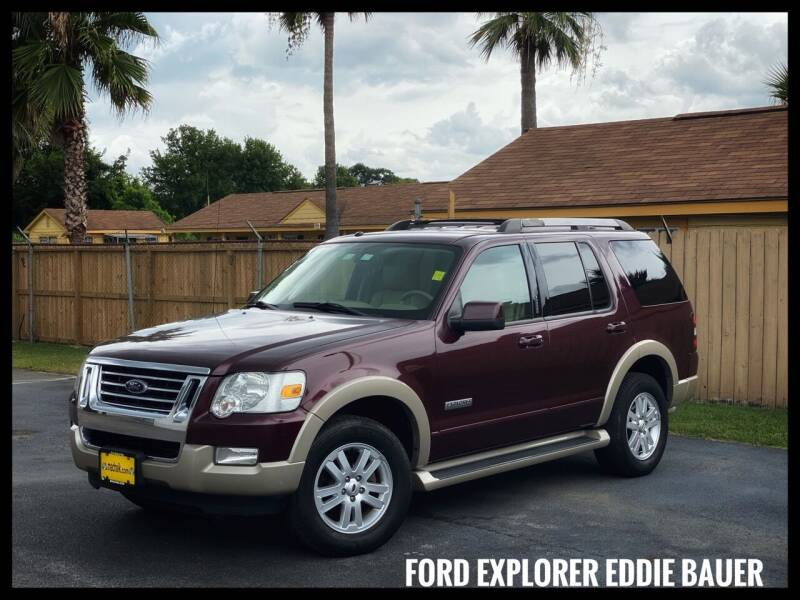 2007 Ford Explorer for sale at ASTRO MOTORS in Houston TX
