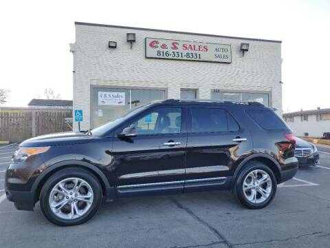 2014 Ford Explorer for sale at C & S SALES in Belton MO
