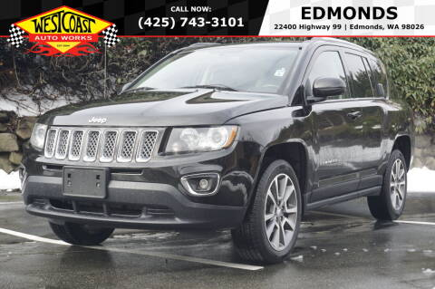 2015 Jeep Compass for sale at West Coast Auto Works in Edmonds WA