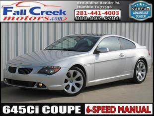 2005 BMW 6 Series for sale at Fall Creek Motor Cars in Humble TX