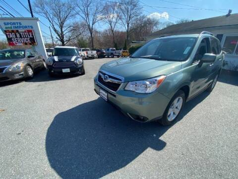 2016 Subaru Forester for sale at Sports & Imports in Pasadena MD