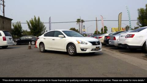 2015 Nissan Altima for sale at Westland Auto Sales on 7th in Fresno CA