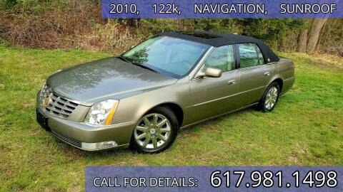 2010 Cadillac DTS for sale at Wheeler Dealer Inc. in Acton MA
