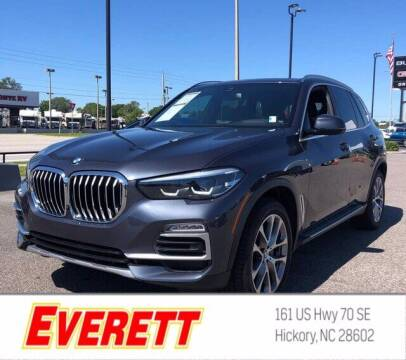 2019 BMW X5 for sale at Everett Chevrolet Buick GMC in Hickory NC