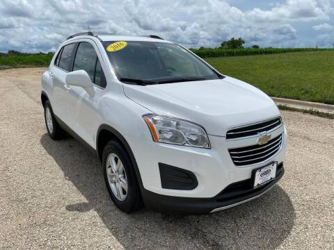 2016 Chevrolet Trax for sale at Alan Browne Chevy in Genoa IL