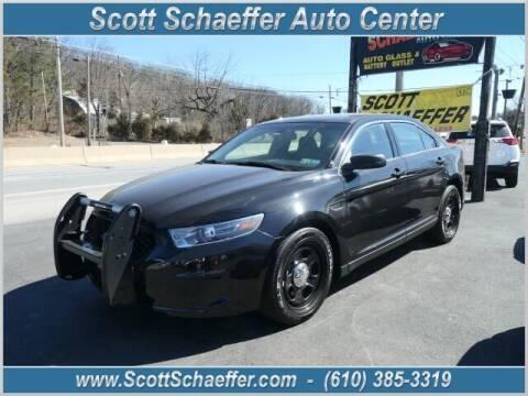 2019 Ford Taurus for sale at Scott Schaeffer Auto Center in Birdsboro PA