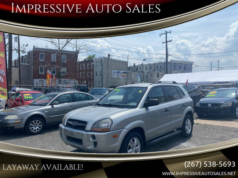 2009 Hyundai Tucson for sale at Impressive Auto Sales in Philadelphia PA