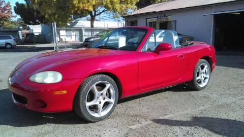 2002 Mazda MX-5 Miata for sale at Larry's Auto Sales Inc. in Fresno CA
