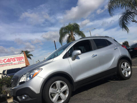 2015 Buick Encore for sale at CARSTER in Huntington Beach CA