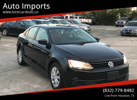 2013 Volkswagen Jetta for sale at Auto Imports in Houston TX