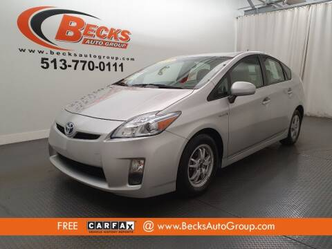 2010 Toyota Prius for sale at Becks Auto Group in Mason OH