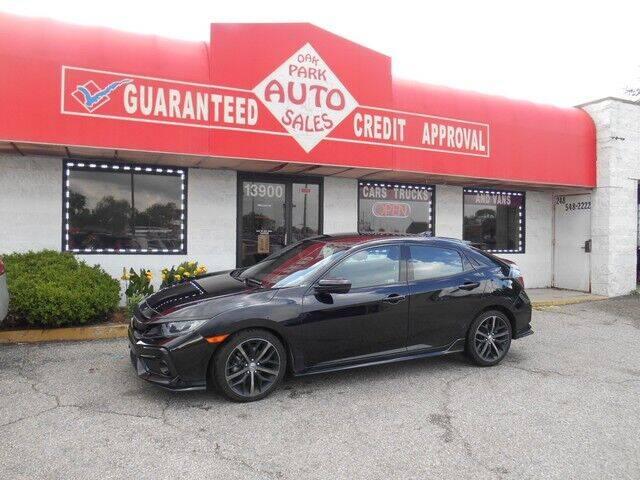 2020 Honda Civic for sale at Oak Park Auto Sales in Oak Park MI