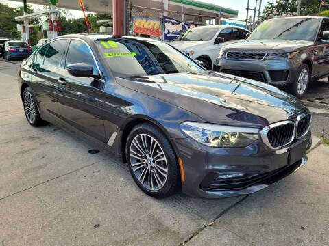 2018 BMW 5 Series for sale at LIBERTY AUTOLAND INC - LIBERTY AUTOLAND II INC in Queens Villiage NY