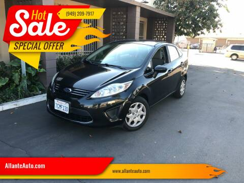 2011 Ford Fiesta for sale at AllanteAuto.com in Santa Ana CA