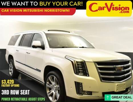 2017 Cadillac Escalade ESV for sale at Car Vision Mitsubishi Norristown in Norristown PA