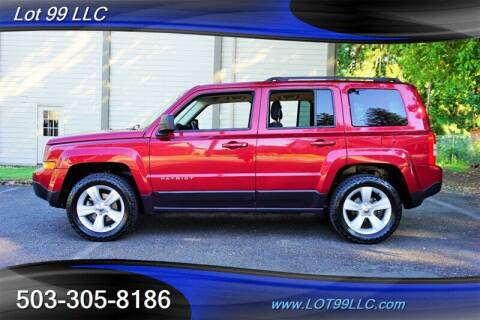2017 Jeep Patriot for sale at LOT 99 LLC in Milwaukie OR