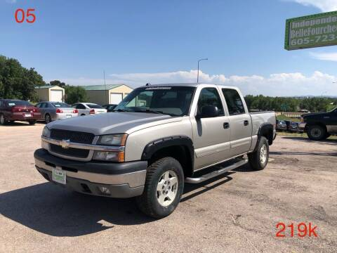 2005 Chevrolet Silverado 1500 for sale at Independent Auto in Belle Fourche SD