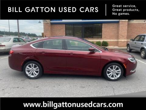 2015 Chrysler 200 for sale at Bill Gatton Used Cars in Johnson City TN