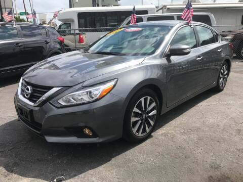 2017 Nissan Altima for sale at MIAMI AUTO LIQUIDATORS in Miami FL