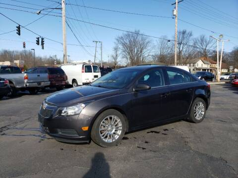 2014 Chevrolet Cruze for sale at COLONIAL AUTO SALES in North Lima OH