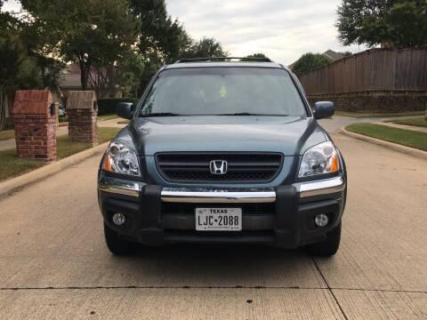 2005 Honda Pilot for sale at TETCO AUTO SALES  / TETCO FUNDING in Dallas TX
