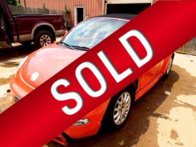 2004 Volkswagen New Beetle Convertible for sale in Bedford, VA