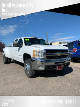 2008 Chevrolet Silverado 3500HD for sale at Quality Auto City Inc. in Laramie WY