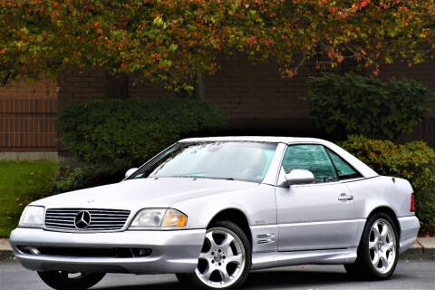 2002 Mercedes-Benz SL-Class for sale at SEATTLE FINEST MOTORS in Lynnwood WA