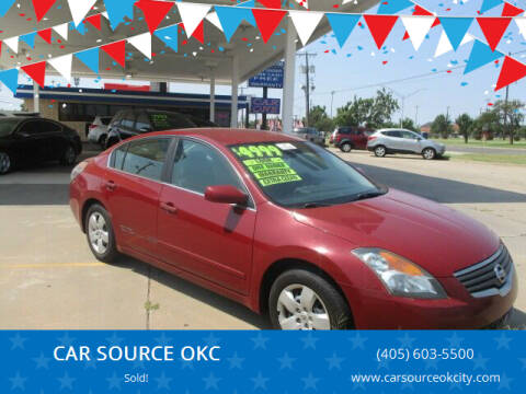 2007 Nissan Altima for sale at CAR SOURCE OKC - CAR ONE in Oklahoma City OK