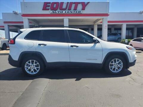 2016 Jeep Cherokee for sale at EQUITY AUTO CENTER in Phoenix AZ