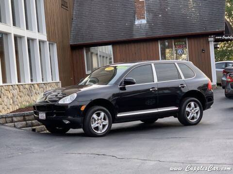2004 Porsche Cayenne for sale at Cupples Car Company in Belmont NH
