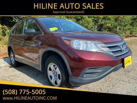 2013 Honda CR-V for sale at HILINE AUTO SALES in Hyannis MA