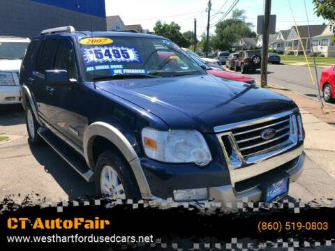 2007 Ford Explorer for sale at CT AutoFair in West Hartford CT