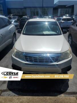2012 Subaru Forester for sale at COYLE GM - COYLE NISSAN - New Inventory in Clarksville IN
