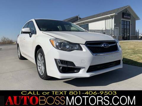 2016 Subaru Impreza for sale at Auto Boss in Woodscross UT