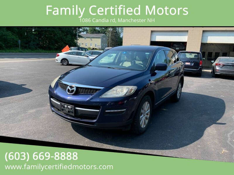 2008 Mazda CX-9 for sale at Family Certified Motors in Manchester NH