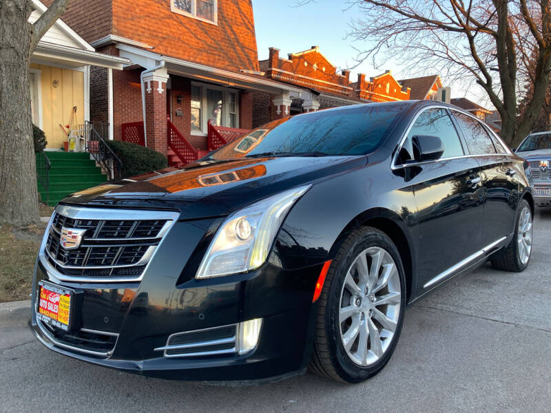 2016 Cadillac XTS for sale at RON'S AUTO SALES INC in Cicero IL