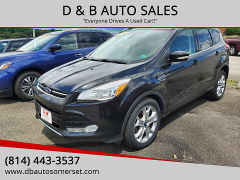 2014 Ford Escape for sale at D & B AUTO SALES in Somerset PA