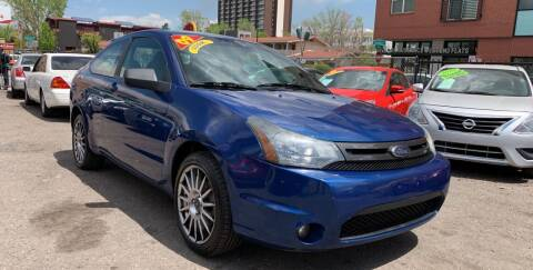 2009 Ford Focus for sale at Sanaa Auto Sales LLC in Denver CO