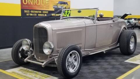 1932 Ford Model B for sale at UNIQUE SPECIALTY & CLASSICS in Mankato MN