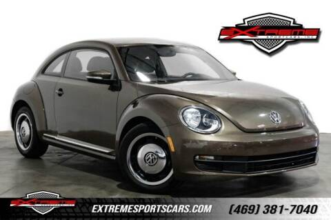 2012 Volkswagen Beetle for sale at EXTREME SPORTCARS INC in Carrollton TX
