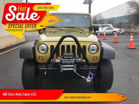 2007 Jeep Wrangler for sale at MD Euro Auto Sales LLC in Hasbrouck Heights NJ