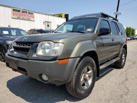 2003 Nissan Xterra for sale at MENNE AUTO SALES in Hasbrouck Heights NJ